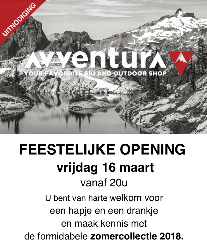 heropening survival shop Avventura 16 maart 2018
